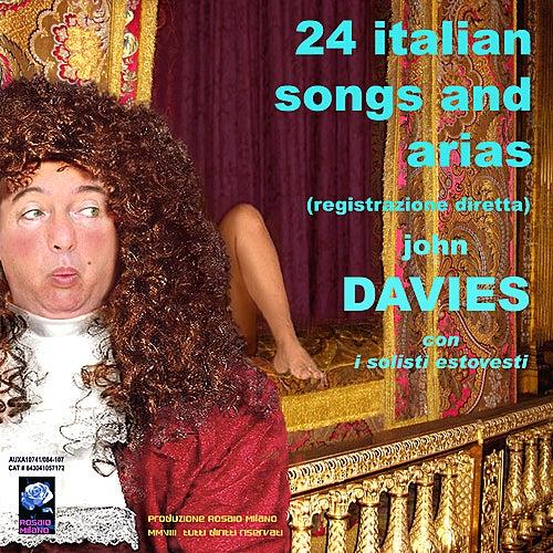 24 Italian Songs and Arias by John Davies