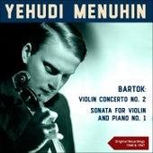 Bartók: Violin Concerto No. 2 & Sonata for Violin and Piano No. 1 (Original Recordings 1946 & 1947) by Various Artists