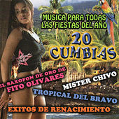 20 Cumbias Musica Para Todas las Fiestats Del Ano by Various Artists