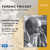 Joseph Haydn: Symphony No. 44 & No. 98 von WDR Sinfonieorchester Köln Ferenc Fricsay