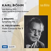 Johannes Brahms: Symphony No. 1 & H. Vieuxtemps: Violin Concerto No. 5 by Various Artists