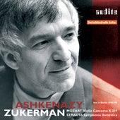 Wolfgang Amadeus Mozart: Violin Concerto K 219 & Richard Strauss: Symphonia Domestica by Various Artists