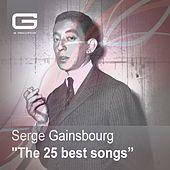 The 25 Best Songs de Serge Gainsbourg