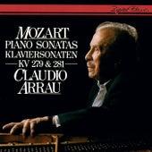 Mozart: Piano Sonatas Nos. 1 & 3 von Claudio Arrau
