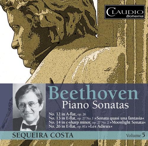 Beethoven: Piano Sonatas, Vol. 5 by Sequeira Costa