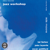 With Tal Farlow, John Laporta & Oscar Pettiford by Ada Moore