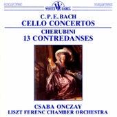 C. P. E. Bach: Cello Concertos - Cherubini: 13 Contredances von Various Artists