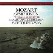 Mozart: Symphonies Nos. 39 & 41 by Sir Colin Davis
