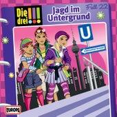 022/Jagd im Untergrund von Die Drei !!!