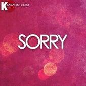 Sorry (Originally Performed by Beyonce) [Karaoke Version] - Single by Cover Guru