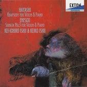 H. Hayashi: Rhapsody for Violin & Piano - Enesco: Violin Sonate No. 3 by Keiko Ishii