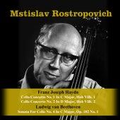Franz Joseph Haydn: Cello Concerto No. 1 In C Major, Hob Vilb. 1 / Cello Concerto No. 2 In D Major, Hob Vilb. 2 / Ludwig van Beethoven: Sonata For Cello No. 4 In C Major, Op. 102 No. 1 de Various Artists