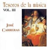 Tesoros de la Música Vol. III, José Carreras de José Carreras