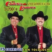 15 Corridos con Tololoche by Los Cadetes De Linares
