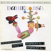 Daniel Asia: Symphonies No. 2 & 3 de The Phoenix Symphony