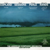 Works by Aaron Copland, Roger Sessions, George Perle, and Bernard Rands by American Symphony Orchestra