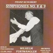 Franz Schubert : Symphonies No.8 & 9 by Wilhelm Furtwängler