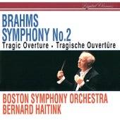 Brahms: Symphony No. 2; Tragic Overture von Boston Symphony Orchestra