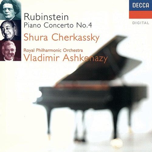 Rubinstein: Piano Concerto No. 4 etc by Shura Cherkassky