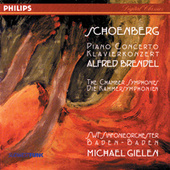 Schoenberg: Piano Concerto; Chamber Symphonies Nos. 1 & 2 by Alfred Brendel