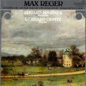 Reger: Clarinet Sonatas, Op. 49 & Romanze in G Major by Eduard Brunner