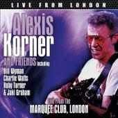 Live From London de Alexis Korner