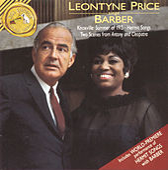 Leontyne Price Sings Barber by Samuel Barber