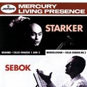 Brahms / Mendelssohn: Cello Sonatas de János Starker