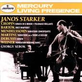 Bartók / Chopin / Debussy / Mendelssohn: Cello Sonatas &c de János Starker