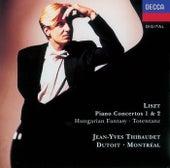 Liszt: Piano Concerto Nos.1 & 2/Fantasia on Hungarian Folk Themes etc. de Jean-Yves Thibaudet