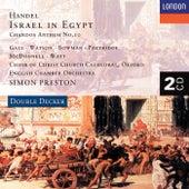 Handel: Israel in Egypt etc. by Various Artists