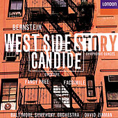 Bernstein: West Side Story Symphonic Dances; Facsimile; Fancy Free; Candide Overture by Baltimore Symphony Orchestra
