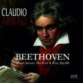 Beethoven: Piano Sonata No. 31 in A-flat major, Op. 110 von Claudio Arrau