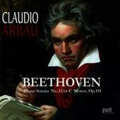 Beethoven: Piano Sonata No. 32 in C minor, Op. 111 von Claudio Arrau
