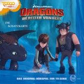 Folge 4: Die Schatzkarte (Das Original-Hörspiel zur TV-Serie) von Dragons - Die Reiter von Berk
