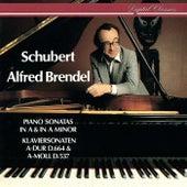 Schubert: Piano Sonatas Nos. 4 & 13 by Alfred Brendel