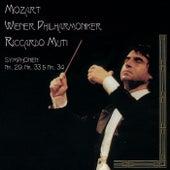 Mozart: Symphonies Nos. 29, 33 & 34 by Wiener Philharmoniker