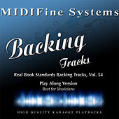 Real Book Standards Backing Tracks, Vol. 54 (Play Along Version) by MIDIFine Systems
