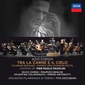 Azio Corghi: Tra La Carne E Il Cielo / Filigrane Bachiane / D'Apres Cinq Chansons D'Elite de Various Artists