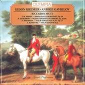 Schumann: Concerto - Schnittke: Violin Sonata by Andrei Gavrilov