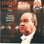 Tartini, Prokofiev & Janáček: Sonatas de Frieda Bauer