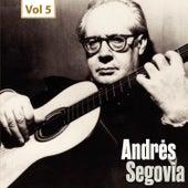 Milestones of a Guitar Legend - Andrès Segovia, Vol. 5 de Andrès Segovia (1)