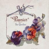 Pansies by Ike Quebec