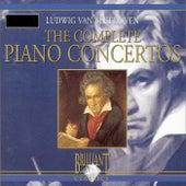 Beethoven: The Complete Piano Concertos by Berliner Symphoniker and Gerard Oskamp Shoko Sugitani