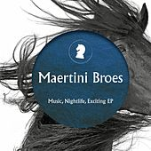 Music Nightlife Exciting by Maertini Broes