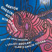 Bartók, Ghedini, Rota, Hindemith: Music for String Orchestra by Various Artists