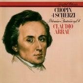 Chopin: 4 Scherzos; Polonaise-Fantaisie von Claudio Arrau