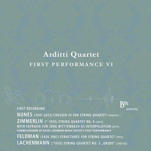 Arditti Quartet Plays Works by Nunes, Zimmerlin, Feldman & Lachenmann by Arditti Quartet