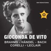 The Art of Gionconda de Vito by Gioconda De Vito