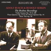 The Brahms Recordings (1931-1949) von Various Artists
